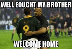 Jonah Lomu, South Africa Rugby, Nz All Blacks, Neurone, Baseball Cards, My Love, Instagram Posts, Sports, Beer Quotes