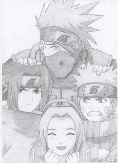 Anime Naruto, Naruto Uzumaki Art, Naruto Fan Art, Naruto Sasuke Sakura, Wallpaper Naruto Shippuden, Naruto Wallpaper, Otaku Anime, Anime Chibi, Manga Anime