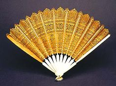Fan thought to have belonged to Charles I, c. 1600. Royal Collection, Queen Elizabeth II