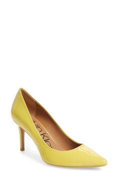 Available in 11 colors, check out & shop the Calvin Klein Gayle Pumps $100, available here: https://rstyle.me/~an5Ew