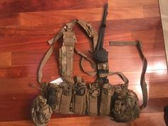Tactical Assault Gear Intrepid Chest Rig used in Afghanistan. CRYE PRECISION DEV