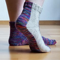 Interested in knitting your own socks? Check out this cozy pair you won't want to take off.