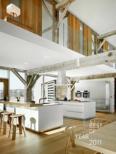Frame House Kitchen by Vermeulen Hind Architects and Bulthaup Toronto