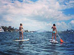 Saturday's in Sydney  #sydney #sydneyharbourbridge #paddleboarding #cityscape #exploreaustralia @lah23 by hightfashion http://ift.tt/1NRMbNv