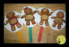 Gingerbread Letters, Words, and a Freebie!!!