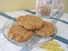 wartime peanut butter cookies