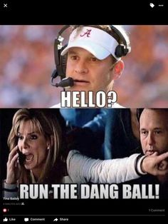 Even though Kiffin is gone, this is still so hilarious! This is me all season...