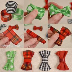 Make your own infant bow tie - Mommy Scene