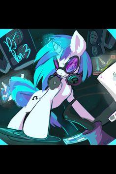 Vinyl Scratch: Wickedest pony in Equestria! ):D