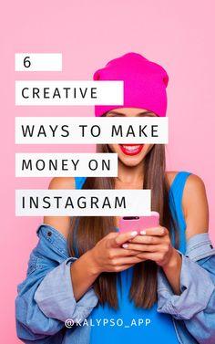Monetize Your Instagram Outside of Sponsored Posts | creative ways to make money on Instagram | how to make money on instagram | instagram influencer tips | ways to make money on instagram | how do people make money on instagram | how to become an instagram influencer | kalypso app #instagraminfluencer #instagramtips