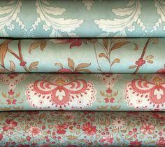 Printemps by 3 Sisters for Moda Fabrics Fat Quarter Bundle 4FQA 4 Fat Quarters #ModaFabrics