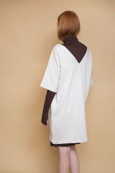 Snap Shot Dress / Ivory