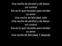 LETRA Una noche de Alcohol-Kannon feat El Brujo - YouTube