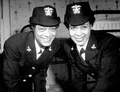 Lt.(jg.) Harriet Ida Pickens and Ens. Frances Wills, the first African-American Waves to be commissioned. December 21, 1944