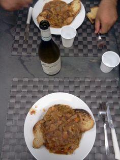 colazione su tavolo in ardesia ferrugo ad11 www.pulchria.it