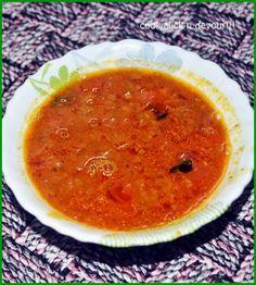 Vengaya sambar recipe: Spicy,flavorful sambar with dal and onions,onion sambar recipe @ http://cookclickndevour.com/vengaya-sambar