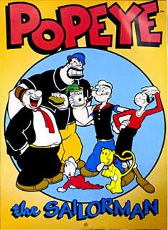 Danny as Popeye, Spanks as Wimpy, Dad as Brutus, and Mom as Olive Oyl... Halloween DIY...