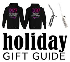 """""""Holiday Gift Guide: BFFs"""" by a-random-fandom ❤ liked on Polyvore"""