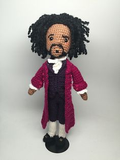"""What'd I miss?"" Hamilton has been a HUGE hit on Broadway but if you can't get tickets, just sit at home and turn up the soundtrack (its amazing) and play with your Hamilton dolls."