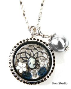 Delicate and stunning. Locket Charms, Lockets, South Hill Designs, Design Your Own, Pocket Watch, Jewelery, Best Gifts, Delicate, Charmed