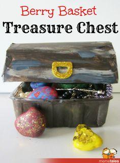 Berry Basket Treasure Chest
