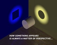 How something appears is always a matter of perspective.  --Nassim Haramein https://www.facebook.com/Nassim.Haramein.official