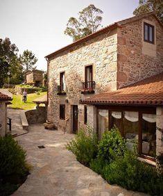 Las 178 mejores im genes de casas con porche en 2018 - Casas de piedra rusticas ...