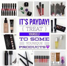 It's Friday!! For most of you that means PAYDAY! Spoil yourself a little and treat yourself to something amazing! ;) http://www.youniqueproducts.com/thatlashgirl