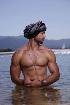 turban look