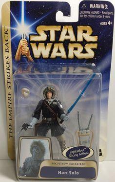 (TAS031866) - 2003 Hasbro Star Wars Return Of The Jedi - Han Solo Figure