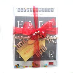 Een minislinger als uitnodiging voor de kerst of nieuwjaarsborrel! ♡ www.LiefsLabel.nl