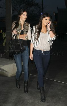 kendall & Kylie Jenner! Style, Fashion! SERIOUSLY THEY HAVE STYLE!