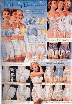 Undergarment Ad from Sears Catalog, mid 1950s by Heather_Koslov, via Flickr