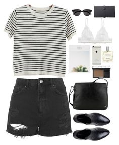 """""""Untitled #2633"""" by wtf-towear ❤ liked on Polyvore featuring Topshop, Chicnova Fashion, Yves Saint Laurent, Monki, Miller Harris, NARS Cosmetics and Tula"""