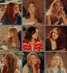 Haley James Scott.  I love her hair all the time no matter what she does!