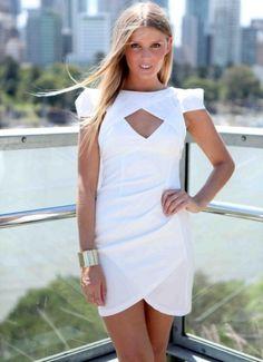 white dress xenia - Google Search