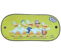 Sonnenschutzschild Sitting Ducks Dance Heckscheibe 100x44cm Ducks, Bunt, Lunch Box, Rear Window, Solar Shades, Colour, Bento Box