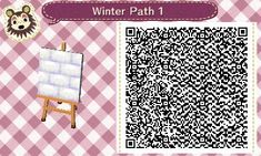 animal crossing new leaf winter path - Google Search