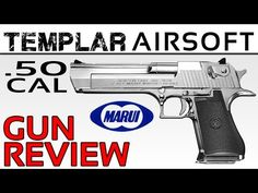 "Here I we take a look at the Tokyo Marui Desert Eagle cal, Hard Kick. Finished in chrome, with a kick living up to it's ""Hard Kick"" name, this thing is a Tokyo Marui, Desert Eagle, A Beast, Hand Guns, 50th, Kicks, Chrome, Firearms, Pistols"