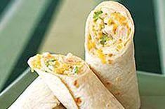 Sandwich roulé au thon et fromage fondu - Kraft Canada