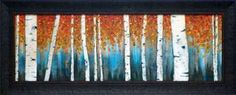 North American Art Wholesale Fine Framed Art Print Birch Haven