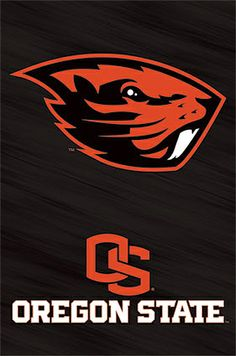 Oregon State Beavers Official NCAA Team Logo Poster -available at www.sportsposterwarehouse.com