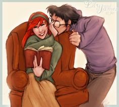 (tags: Harry Potter, James, Lily)