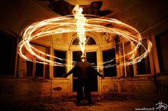 Fire Light Painting – 17 photographies de Tom Lacoste