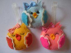 Keçe+Dolgulu+Kuş+Magnet+-2...These are the cutest little felt birds!!