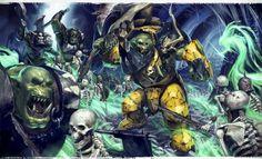 Orks vs Undeads