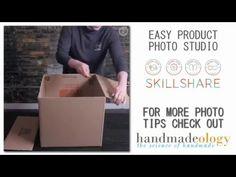 Easy Product Photo Studio DIY | Handmadeology