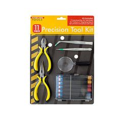 Tweezers and Pick-Up Tools 34089: Precision Tool Set With Magnifying Glass 2 Pack BUY IT NOW ONLY: $38.81
