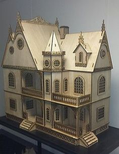 Jasmine Gothic Victorian  Dollhouse1:12 scale Large Kit