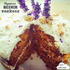 Katie's Happy Clouds: Ciasto dyniowo-marchewkowe, Pumpkin-carrot cake